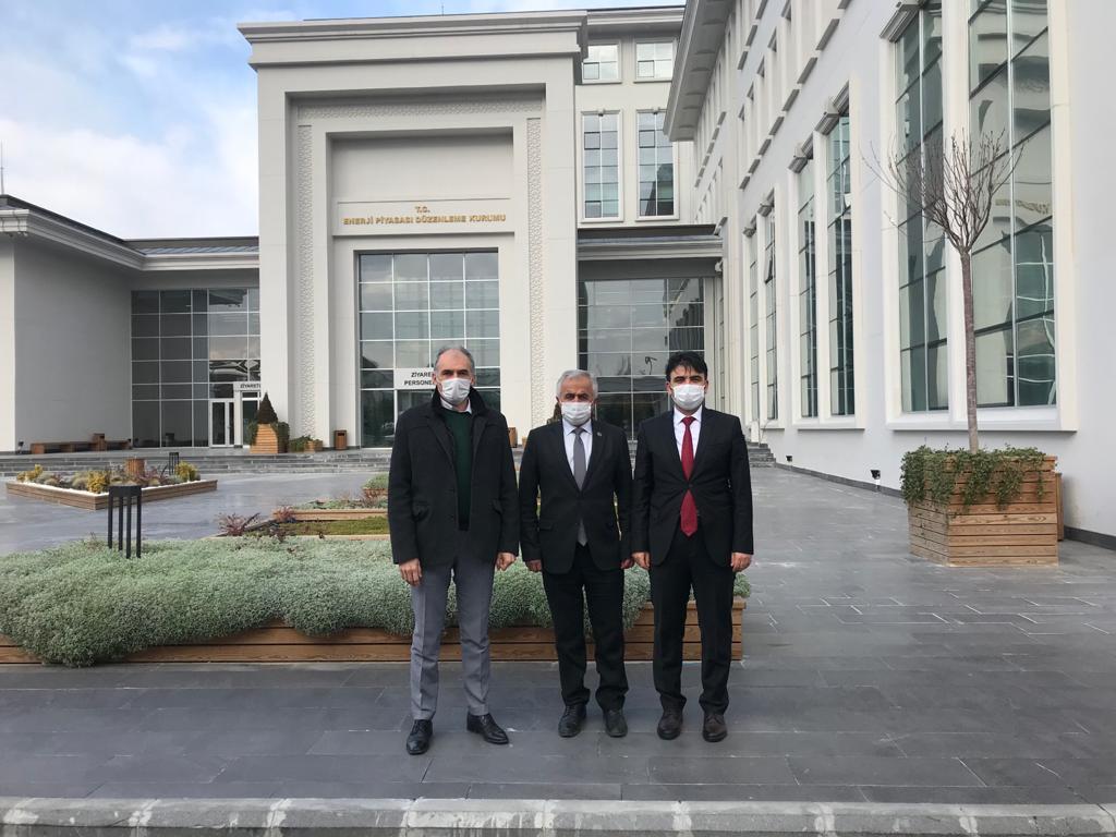 EPDK VE SANAYİ BÖLGELERİ GENEL MÜDÜRLÜĞÜ ZİYARET EDİLDİ.